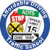 affordable traffic school logo